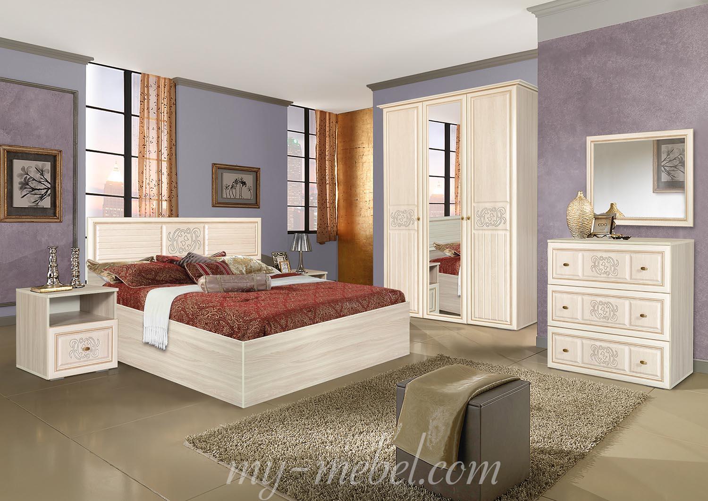 модульная спальня виктория джина мебель маркет купить недорого в