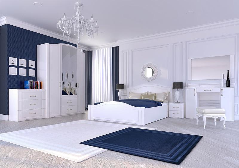 модульная спальня виктория ижмебель купить недорого в москве с