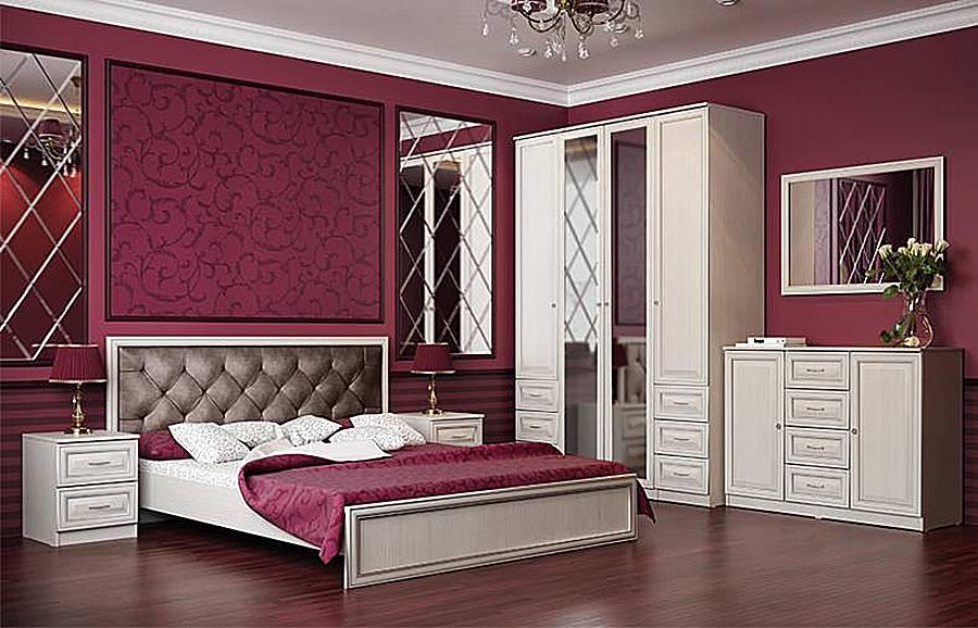 Модульная спальня Габриэлла (Олимп-мебель)