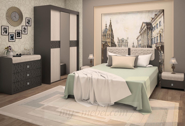 Модульная спальня Каштан (RADO)