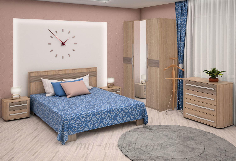 Модульная спальня Корвет (RADO)