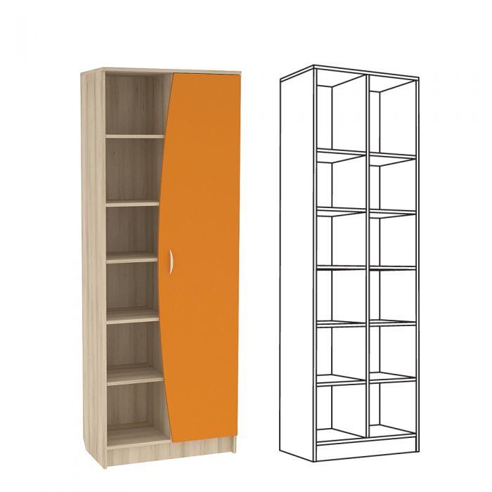 Ника 413 шкаф-стеллаж купить недорого в москве с доставкой ш.